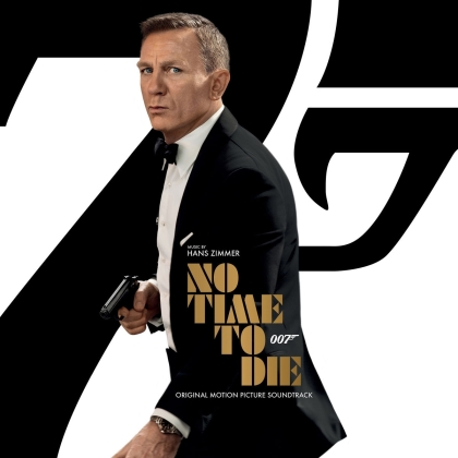 Hans Zimmer & Johnny Marr (Smiths) - No Time To Die (James Bond) - OST (2 LPs)