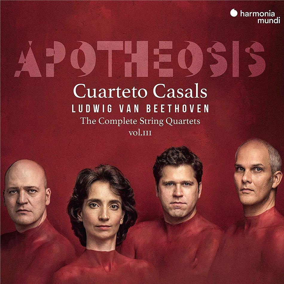 Ludwig van Beethoven (1770-1827) & Cuarteto Casals - Complete String Quartets Vol. III (3 CDs)