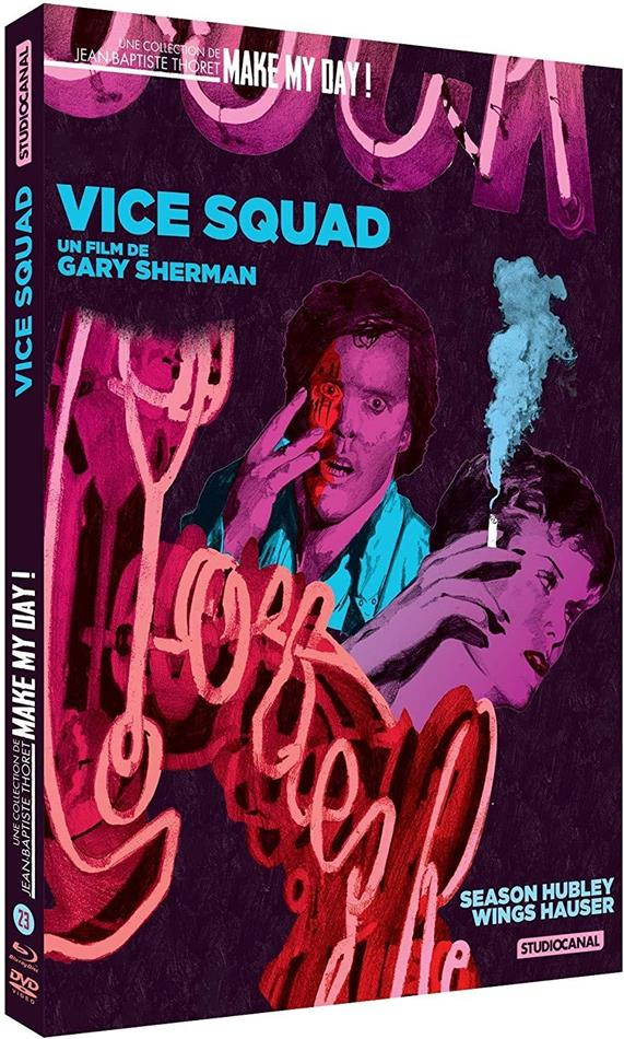 Vice Squad (1982) (Make My Day! Collection, Digibook, Blu-ray + DVD)