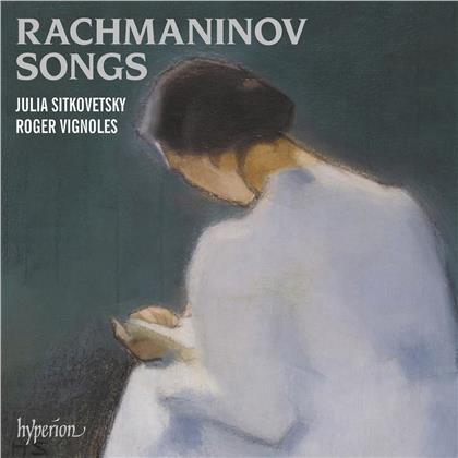 Sergej Rachmaninoff (1873-1943), Julia Sitkovetsky & Roger Vignoles - Rachmaninov Songs