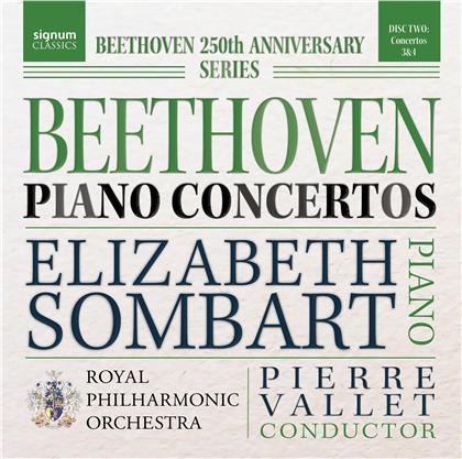 Ludwig van Beethoven (1770-1827), Pierre-Luc Vallet, Elizabeth Sombart & Royal Philharmonic Orchestra - Beethoven Piano Concertos - 3 & 4 (Beethoven 250th Anniversary Series)