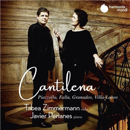 Manuel de Falla (1867-1946), Astor Piazzolla (1921-1992), Tabea Zimmermann & Javier Perianes - Cantilena