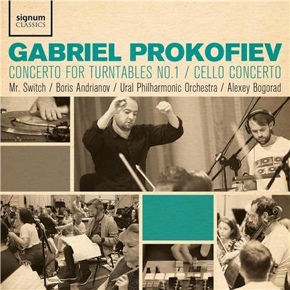 Gabriel Prokofiev - Concerto For Turntables No. 1, Cello Concerto