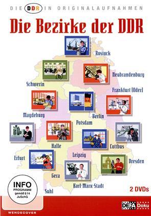 Die Bezirke der DDR (2 DVDs)