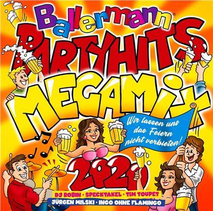 Ballermann Fußball Hits Megamix 2020 (2 CDs)