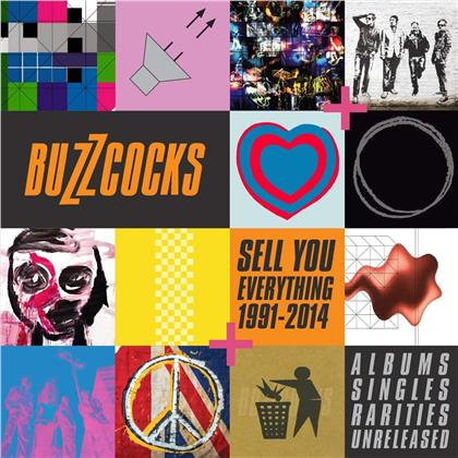 Buzzcocks - Sell You Everything 1991-2014 (Albums Singles Rarities & Unreleased)