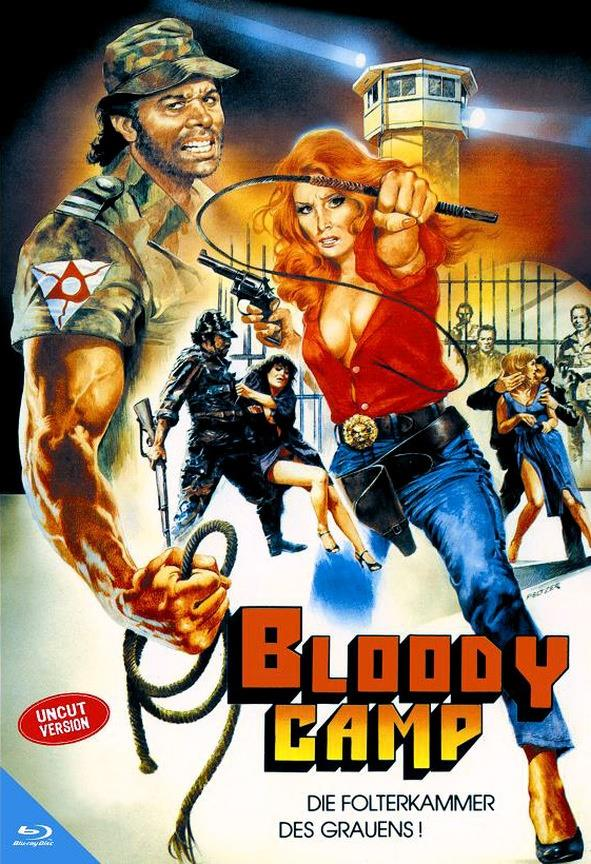 Bloody Camp (1978) (Kleine Hartbox, Limited Edition, Uncut)