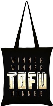Winner Winner Tofu Dinner - Tote Bag