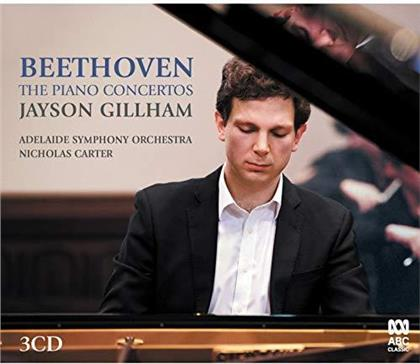 Adelaide Symphony, Ludwig van Beethoven (1770-1827), Nicholas Carter & Jayson Gillham - The Piano Concertos