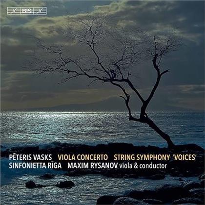 Sinfonietta Riga, Peteris Vasks (*1946) & Maxim Rysanov - Viola Concerto / String Symphony Voices (Hybrid SACD)