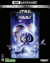 Star Wars - Episode 1 - La menace fantôme / The Phantom Menace (1999) (Line Look, 4K Ultra HD + 2 Blu-rays)
