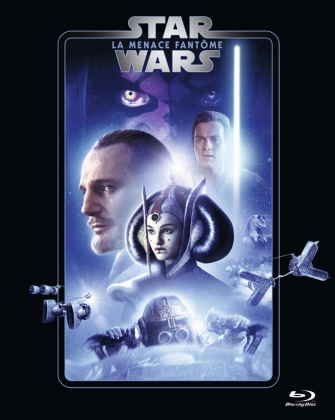 Star Wars - Episode 1 - La menace fantôme / The Phantom Menace (1999) (Line Look, 2 Blu-rays)