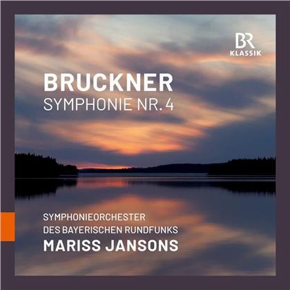 Anton Bruckner (1824-1896), Mariss Jansons & Symphonieorchester des Bayerischen Rundfunks - Symphony 4