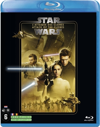 Star Wars - Episode 2 - L'attaque des clones / Attack of the Clones (2002) (Line Look, 2 Blu-rays)