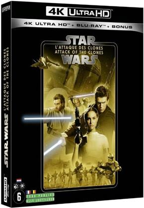 Star Wars - Episode 2 - L'attaque des clones / Attack of the Clones (2002) (Line Look, 4K Ultra HD + 2 Blu-rays)