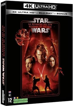 Star Wars - Episode 3 - La revanche des Sith / Revenge of the Sith (2005) (Line Look, 4K Ultra HD + 2 Blu-rays)