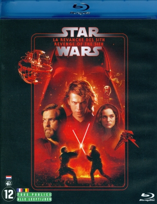 Star Wars - Episode 3 - La revanche des Sith / Revenge of the Sith (2005) (Line Look, 2 Blu-rays)
