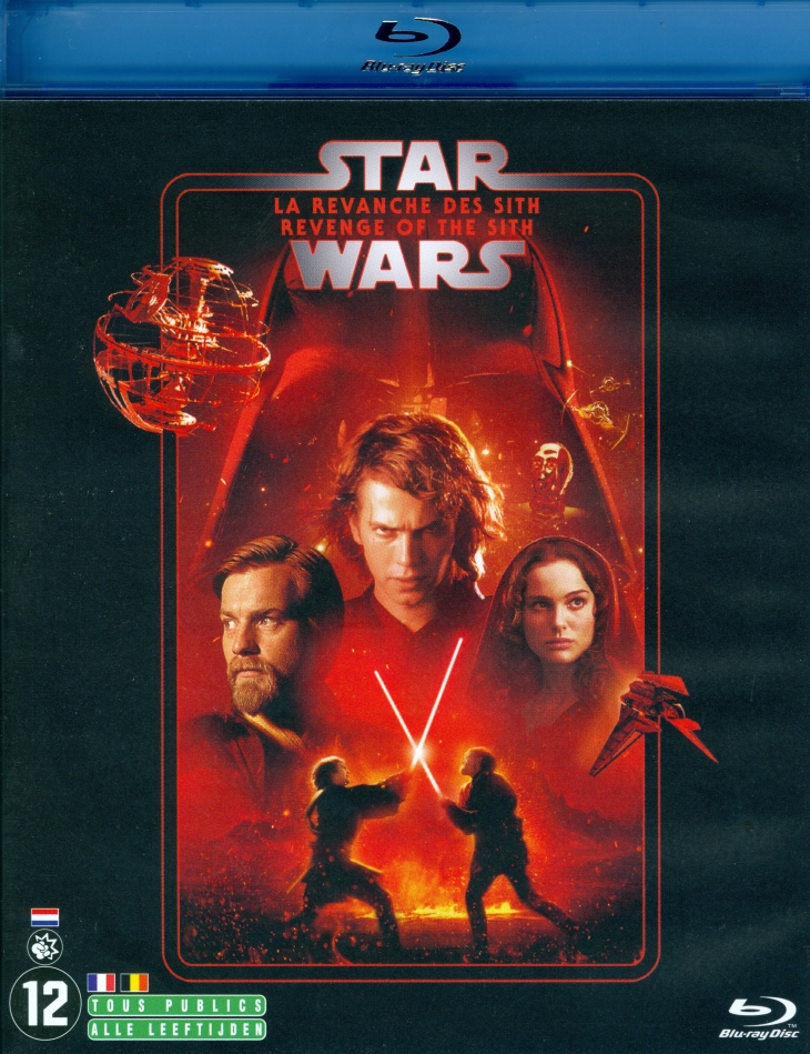 Star Wars - Episode 3 - La revanche des Sith / Revenge of the Sith (2005) (Line Look, 2 Blu-rays)