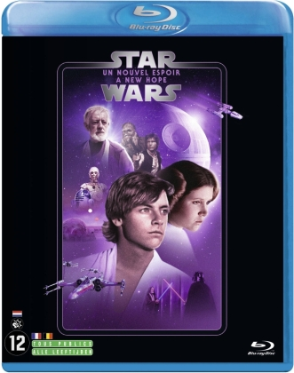 Star Wars - Episode 4 - Un nouvel espoir / A New Hope (1977) (Line Look, 2 Blu-rays)