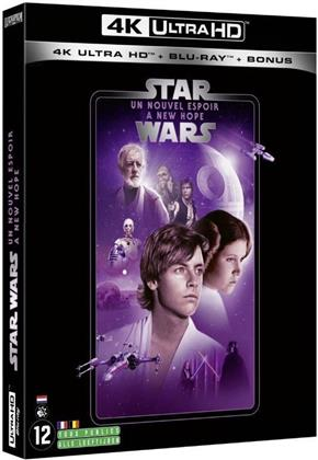 Star Wars - Episode 4 - Un nouvel espoir / A New Hope (1977) (Line Look, 4K Ultra HD + 2 Blu-rays)