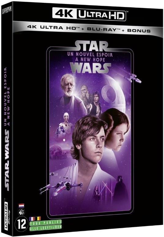 Star Wars - Episode 4 - Un nouvel espoir / A New Hope (1977) (Line Look, 4K Ultra HD + 2 Blu-rays)