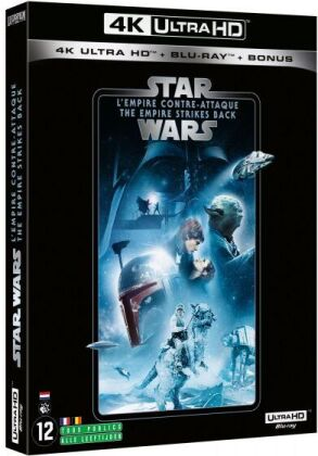 Star Wars - Episode 5 - L'empire contre-attaque / The Empire Strikes Back (1980) (Line Look, 4K Ultra HD + 2 Blu-rays)