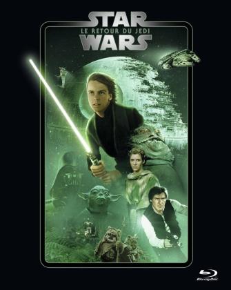 Star Wars - Episode 6 - Le retour du Jedi / Return of the Jedi (1983) (Line Look, 2 Blu-rays)