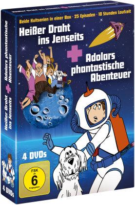 Heisser Draht ins Jenseits / Adolars phantastische Abenteuer (4 DVDs)
