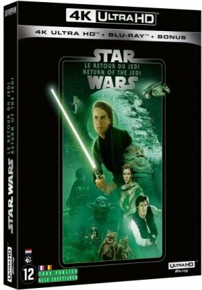 Star Wars - Episode 6 - Le retour du Jedi / Return of the Jedi (1983) (Line Look, 4K Ultra HD + 2 Blu-rays)
