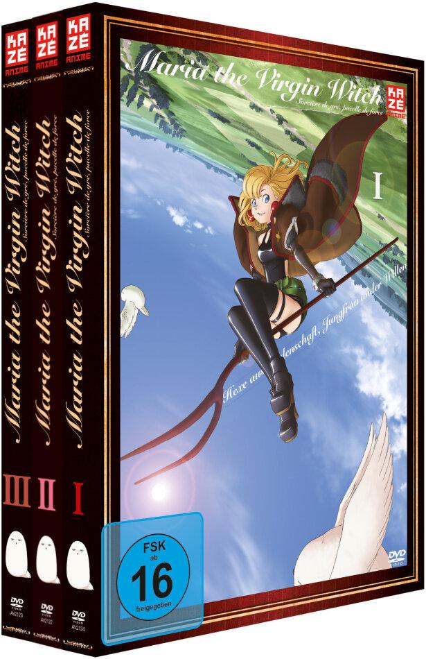 Maria the Virgin Witch (Gesamtausgabe, 3 DVDs)