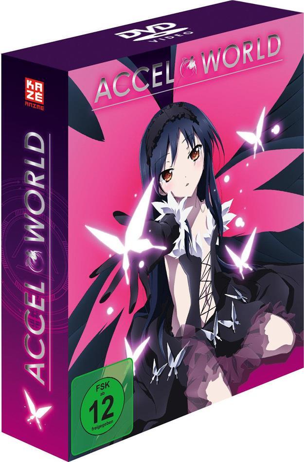 Accel World (Gesamtausgabe, 4 DVDs)