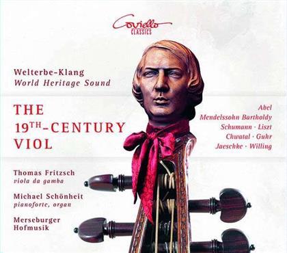 Carl Friedrich Abel (1723-1787), Hermann Gustav Jaeschke (1818-?), Felix Mendelssohn-Bartholdy (1809-1847), Friedrich Heinrich Florian Guhr (1791-1841), Robert Schumann (1810-1856), … - 19Th Century Viol