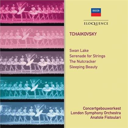 Peter Iljitsch Tschaikowsky (1840-1893), Anatole Fistoulari, Concertgebouworkest & London Symphony Orchesta - Swan Lake, Serenade for Strings, Nutcracker, - Sleeping Beauty (Eloquence Australia)
