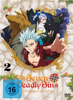 The Seven Deadly Sins - Die Rückkehr der Gebote - Staffel 2 - Vol. 2 (2 DVDs)