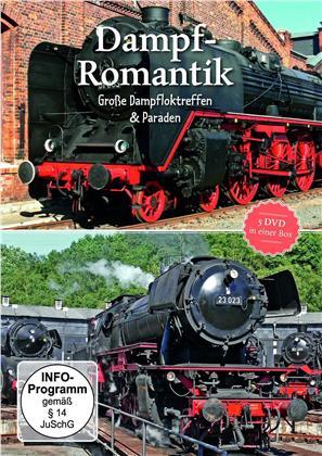 Dampf Romantik - Grosse Dampfloktreffen & Paraden (5 DVDs)