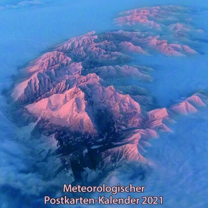 Meteorologischer Postkarten-Kalender 2021