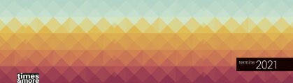 times&more Muster Wochenquerplaner Kalender 2021