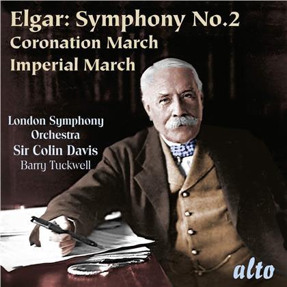 Sir Edward Elgar (1857-1934), Sir Colin Davis, Barry Tuckwell & London Symphony Orchestra - Symphony No. 2 & Marches