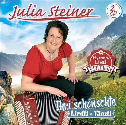 Julia Steiner - Ihri schönschte Liedli + Tänzli (Mythen-Lied-Edition) (2 CDs)