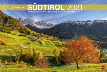 Südtirol Globetrotter Kalender 2021