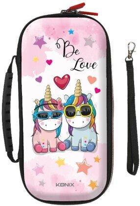 KONIX - Mythics Unicorn Pro Carry Case BE LOVE for Switch