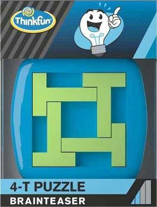 Thinkfun Brainteaser - 4-T Puzzle