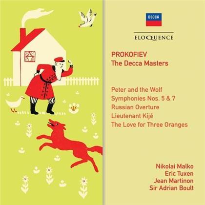 Nikolaj Malko, Eric Tuxen, Jean Martinon, Sir Adrian Boult & Serge Prokofieff (1891-1953) - The Decca Masters (Eloquence Australia)