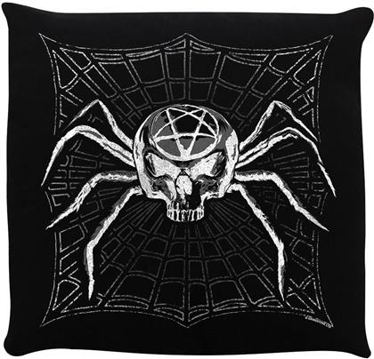 Pentagram Spider - Gothic Cushion