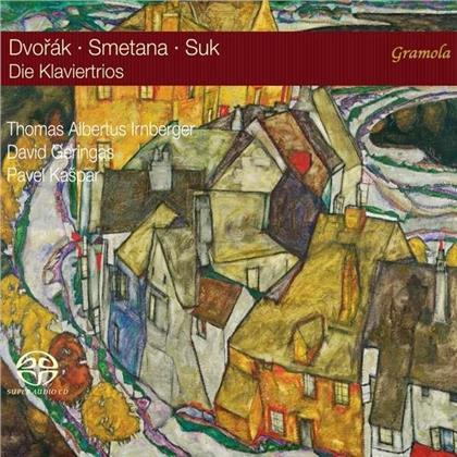 Antonin Dvorák (1841-1904), Friedrich Smetana (1824-1884), Josef Suk (1874-1935), Thomas Albertus Irnberger, David Geringas, … - Die Klaviertrios (SACD)