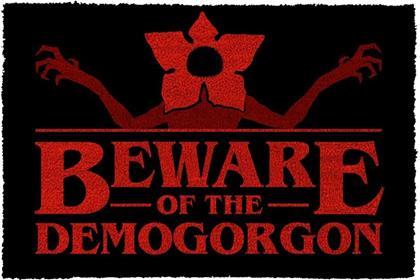 Stranger Things - Beware of the Demogorgon - Doormat
