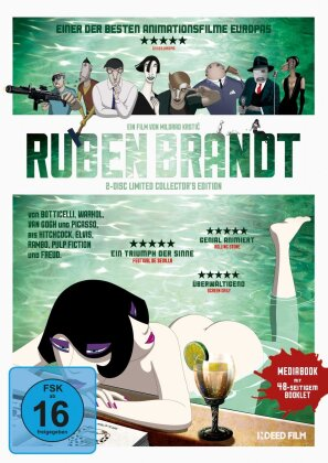 Ruben Brandt, Collector (2018) (Collector's Edition, Limited Collector's Edition, Blu-ray + DVD)