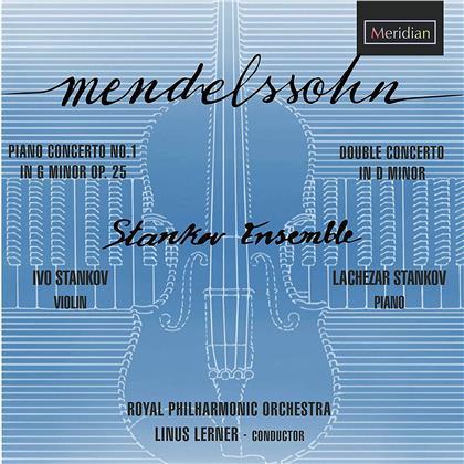 Felix Mendelssohn-Bartholdy (1809-1847), Linus Lerner, Ivo Stankov, Lachezar Stankov & Royal Philharmonic Orchestra - Piano Concerto 1, Concerto For Violin, Piano & Orchestra