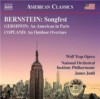 Wolf Trap Opera, Leonard Bernstein (1918-1990), George Gershwin (1898-1937), Aaron Copland (1900-1990), James Judd, … - Songfest, An American In Paris, An Outdoor Overture