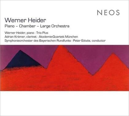 Werner Heider (*1930), Peter Eötvös (*1944), Adrian Krämer, Werner Heider (*1930), Symphonieorchester des Bayerischen Rundfunks, … - Piano / Chamber / Large Orchestra